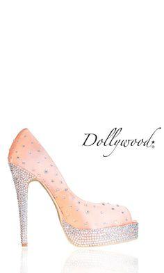 Barbie Wedding Peach Shoes ♥