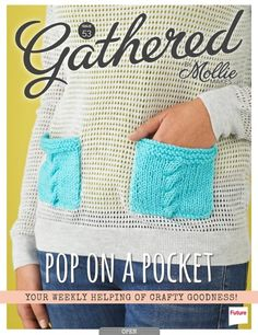 one sheepish girl: Sweater Makeover - Cable Knit Pockets for Gathered! Old Sweater, Sweaters, Cardigans, Crochet Cardigan, Knit Crochet, Alter Pullover, Mollie Makes, Perfect Wardrobe, Hello Beautiful