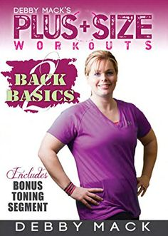 Debby Mack: Plus Size Workouts: Back 2 Basics Cardio Workout >>> Details can be found by clicking on the image.