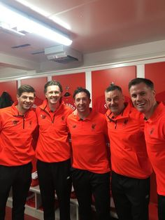 All the Scousers before the big game. Before LFC Foundation Legends Match vs Real Madrid Liverpool Kop, Liverpool Football Club, World Football, Football Players, John Aldridge, Ian Rush, Dejan Lovren, Oxford United, This Is Anfield