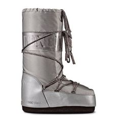 Iridescent Moon Boot Silver, $117, now featured on Fab.