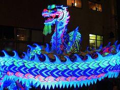 夜光龍の舞/神戸南京町・春節祭  Kobe、JAPAN