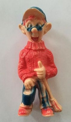 Vintage 1950s Howdy Doody Tee Vee Kagran Figure Toy Puppet Figurine Novelty  | eBay