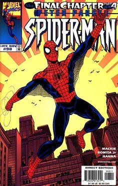 Spider-Man # 98 by John Byrne