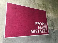 People Make Mistakes, Making Mistakes, How To Make, Decor, Make Mistakes, Decoration, Decorating, Deco