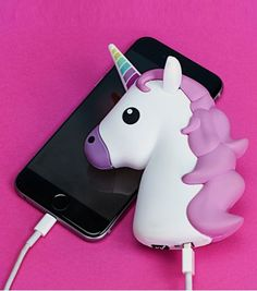 You've been tired of those cubic USB chargers? Then take a look at the Emoji power banks. You may like to use your favorite emoji to charge your smartphone on t Real Unicorn, Cute Unicorn, Unicorn Facts, Unicorn Club, Unicorn Outfit, Unicorn Birthday, Smartphone Nutzung, Cute Phone Cases, Iphone Cases