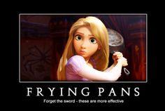 frying pans! :))