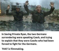 Spielberg paid attention to details...