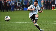 Este es Lionel Messi. Messi es un muy bueno jugador de fútbol. Algunos dicen que es el mejor siempre.