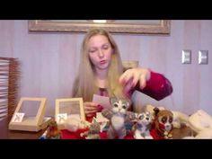Needle Felting Kits, Felt Art, Crochet, Blog, Youtube, Animals, Diy, Angel, Baby Dolls