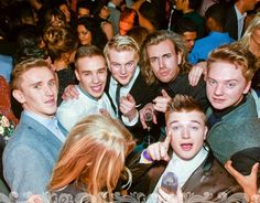 I spy Andy, Liam and wow Conor Maynard -D