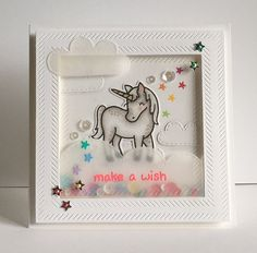 Lawn Fawn: Critters Ever After; Spring Showers Paper Pawz: Lawnscaping with some stars! Rainbow Card, Karten Diy, Lawn Fawn Stamps, Paper Smooches, Kids Birthday Cards, Shaker Cards, Card Making Inspiration, Card Sketches, Kids Cards