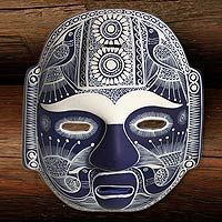 Mexican ceramic mask
