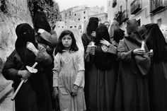 Cristina Garcia Rodero SPAIN. 1982. Cuenca. The penitent girl. Via Magnum Photos