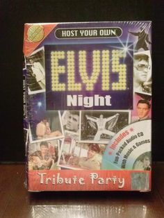 Host Your Own Elvis Night Tribute Party Karaoke & Quiz Game CD Games NEW