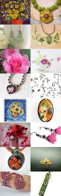 STATteam Floral Finds by Marcia McKinzie on Etsy--Pinned with TreasuryPin.com