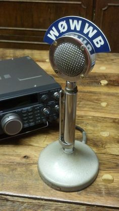 Astatic D-104 Microphone Callsign Station Flags - Ham Radio - Amateur Radio - CB #Astatic