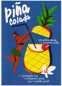 Piña Colada by Virginie Morgand