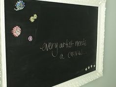Magnetic Chalkboards: the Do's & Don'ts