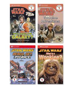 Look at this #zulilyfind! Star Wars Readers Level 1 Paperback Set by Star Wars #zulilyfinds
