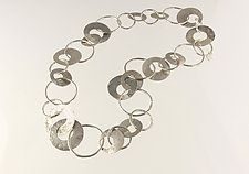Silver Necklace by Edith Schneider