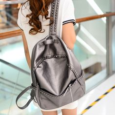 >>>Low Price GuaranteeKorean Style Large Size School Bags For Teenage girls Lady PU Leather casual Rivet Backpacks Womens Waterproof Big Travel BagsKorean Style Large Size School Bags For Teenage girls Lady PU Leather casual Rivet Backpacks Womens Waterproof Big Travel Bagshigh quality product...Cleck Hot Deals >>> http://id680321597.cloudns.ditchyourip.com/32709426187.html images