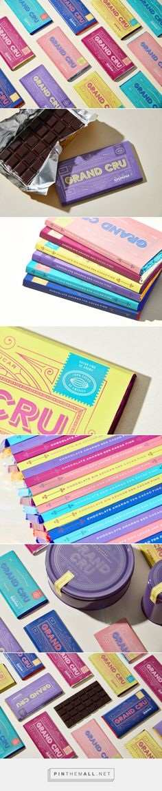 Grand Cru is a Chocolate Brand With Packaging That Taps Into Nostalgic Feelings — The Dieline | Packaging & Branding Design & Innovation News - created via https://pinthemall.net