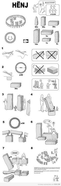 IKEA DIY - Stonehenge
