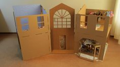 cardboard barbie house - Google Search