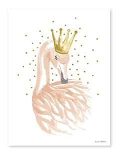 Swan lake sticker