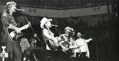 Willie Nelson performs at the UO in McArthur Court 1980. From the 1980 Oregana (University of Oregon yearbook). www.CampusAttic.com