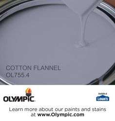 COTTON FLANNEL OL755.4 is a part of the purples collection by Olympic® Paint.