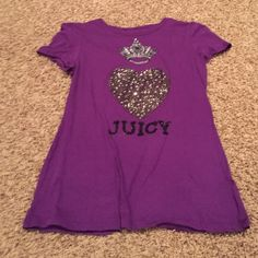 Juicy T Juicy Course glitzy T Juicy Couture Tops Tees - Short Sleeve