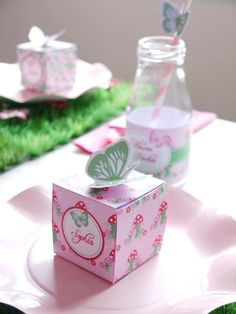 Pixie Fairy Pink Girl Birthday Party Planning Ideas Decorations