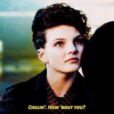 "Camren Bicondova as Selina Kyle | ""Chillin'. How 'bout you?"" #Gotham #Catwoman"