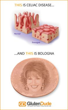 What's the difference between celiac disease and bologna?