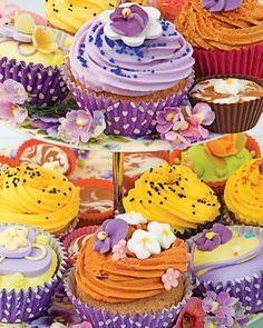 Cupcakes, a 1000 piece jigsaw puzzle by Springbok Puzzles.
