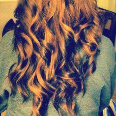#hair #curls #highlights