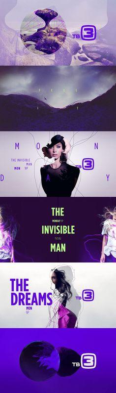 Style frames - motion graphic design TV3 - Carla Dasso: