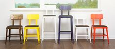 Industrial, Mid-Century and Modern Bar and Counter Stools for Home or Office | Industry West