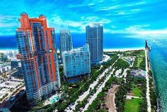 album photo drone idrone_u Astonishing picture of a Smokey & bright afternoon in Miami Beach Got to love this time of the year! by idrone_u Fly Me. Ocean Drive, Time Of The Year, South Florida, Miami Beach, San Francisco Skyline, Album, Amazing, Water, Fun