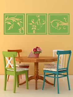Wall Decal Nature Flower Floral Botanical by WallStarGraphics, $65.00
