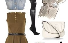 Looks from Books: Matilda - College Fashion