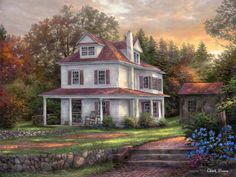 """Stone Terrace Farm"" by Chuck Pinson."
