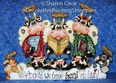The Decorative Painting Store: Herd on High Pattern, Sharon Cook