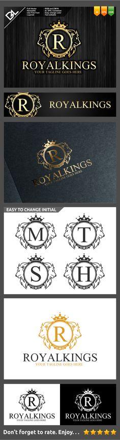 Royal King Logo Template on Behance