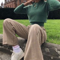 Mode Outfits fur Teenager Over 150 Great Fall Outfits Ideas To Update Your Wardrobe 9 ~ Modern House Indie Outfits, Retro Outfits, Cute Casual Outfits, Winter Outfits, Vintage Outfits, Fashion Outfits, Fashion Pants, Fashion Tips, Grunge Outfits