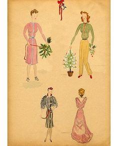 Audrey Hepburn's childhood artwork