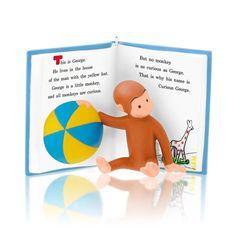 A Curious Little Monkey 2014 Hallmark Ornament  Book Curious George Flies a Kite #Hallmark
