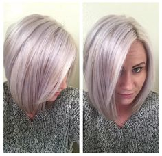 Her personality is almost as awesome as her hair!! <3 #rockingthatplatinumbitch